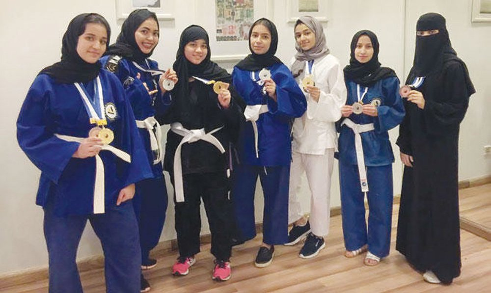image via arabnews - BJJ Around The World: Women's Jiu-Jitsu In Saudi Arabia