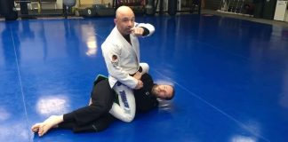 Passing the 3/4 mount in BJJ