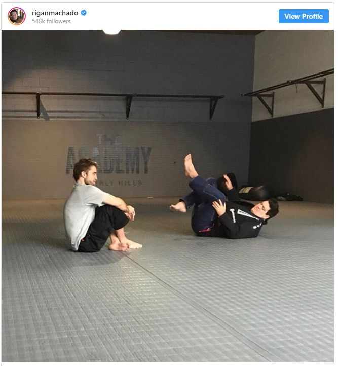 parkingson - Does Batman Know BJJ? The New Batman, Robert Pattinson Certainly Does!