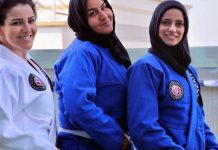 Women's Jiu-Jitsu In Saudi Arabia