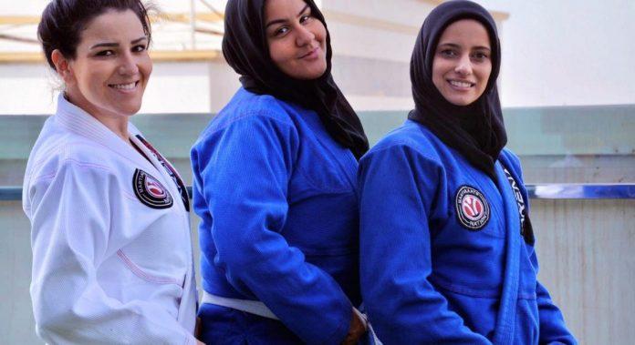 Women's Jiu-Jitsu In Saudi Arabia