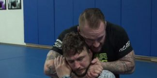 The Short Choke BJJ Submission