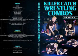 Erik Paulson DVD Review – Killer Catch Wrestling Combos Cover