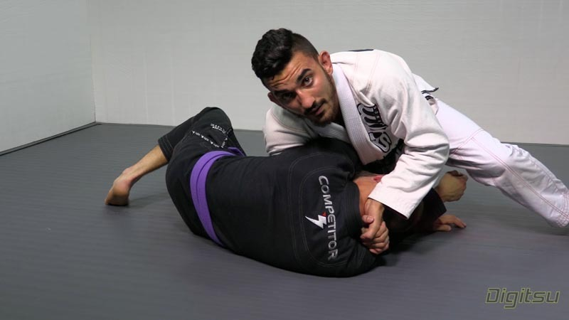 edwin darce video 1 - How To Finish A Darce Choke: Grip Variations