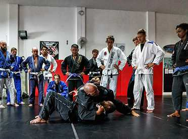 Learn from BJJ camps, seminars and visists