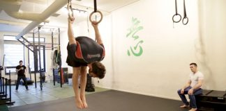 Gymnastic Rings training For Grapplers