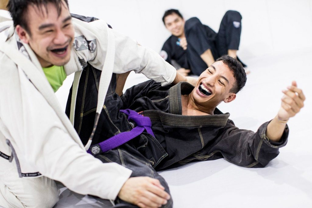 How to be a Great BJJ Training Partner AO1U1822 1017 1024x683 - The Manual For Grappling With More Experienced BJJ Training Partners