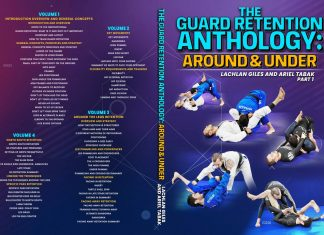 REVIEW: Guard Retention Anthology Lachlan Giles Instructional DVD Cover