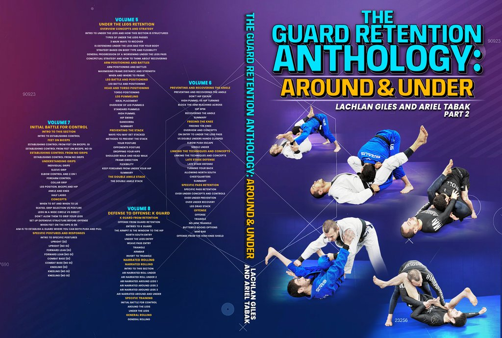 LachlanGiles CoverNEW2 1024x1024 - REVIEW: Guard Retention Anthology Lachlan Giles Instructional DVD