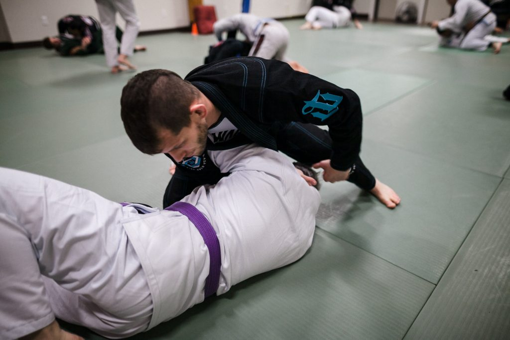 Milton Paulo Teaching 6 1024x683 - The Manual For Grappling With More Experienced BJJ Training Partners