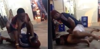 Omoplata Ends Street Altercation