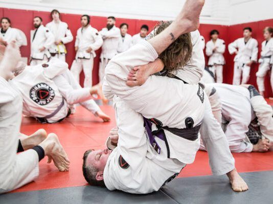 Open mat rolls - How To Be Safe In BJJ