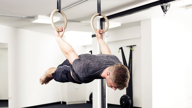 gymnastic ring exercises back lever - Beast Strength: Gymnastic Rings Training For Grapplers