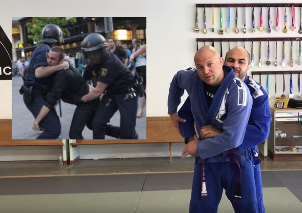 kimura police - Free BJJ Police Training For Offices In Florida