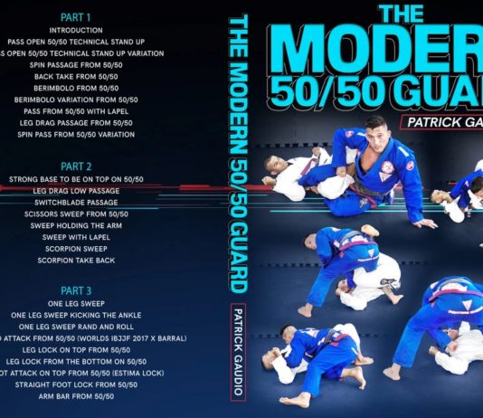 The Modern 50/50 Guard Patrick Gaudio DVD Review