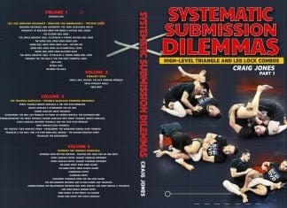 Systematic Submission Dilemmas: Craig Jones DVD Cover