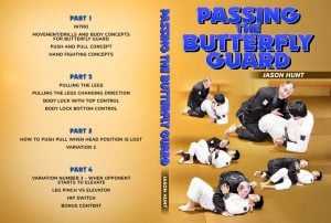JasonHunt Cover 1 1024x1024 300x202 - Jason Hunt: Passing The Butterfly Guard DVD Review