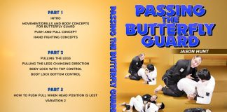 Jason hunt Passing The Butterfly Guard DVD Review