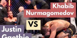 Khabib Nurmagomedov vs Justin Gaethje GRACIE BREAKDOWN