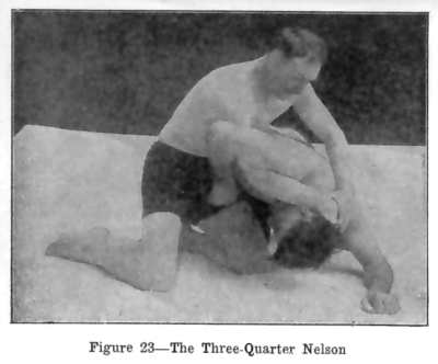Burns Three quarter nelson - Nelson Hold Variations Tailor Made For Jiu-Jitsu