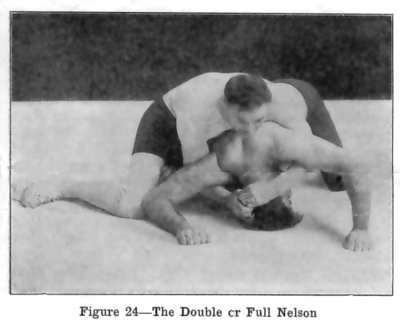 Farmerburnsfigure24fullnelson - Nelson Hold Variations Tailor Made For Jiu-Jitsu