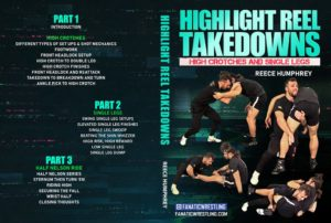 Reece Humphrey Cover 1024x1024 300x202 - No-Gi Takedowns - The Best DVDs and Digital Instructionals