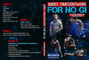 Vladir Arujo Cover 1024x1024 300x202 - No-Gi Takedowns - The Best DVDs and Digital Instructionals