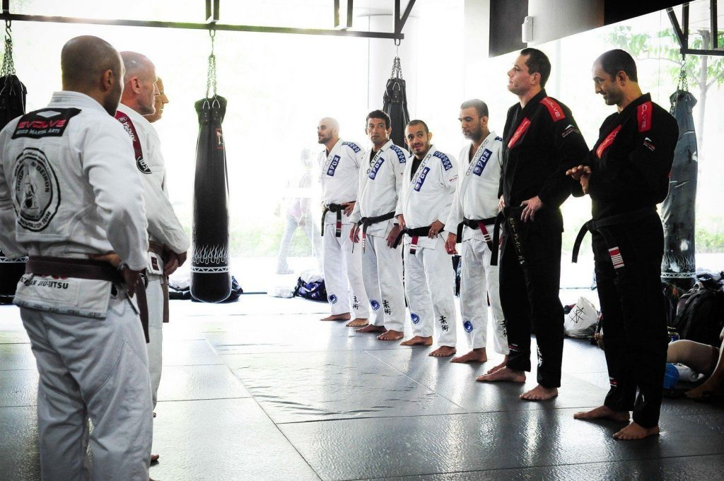 evolvemma bjjseminar002 1024x681 - Never Say These 7 Things To Your BJJ Professor