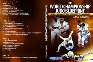 illiadis cover 2 1024x1024 300x202 - The Best BJJ Gi Throws and Takedowns DVDs