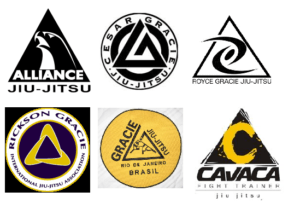BJJ Logos 300x209 - Brazilian Jiu-Jitsu Symbols And The Triangle Meaning