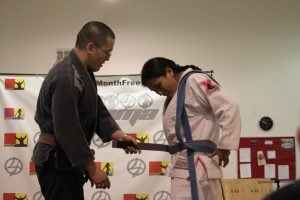 BJJ Purple Belt Cathy TZ 300x200 1 - BJJ Purple Belt Requirements And Curriculum