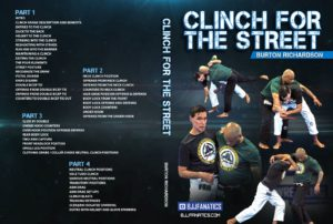Burton Richardson Clinch For The Street Cover 1024x1024 300x202 - All The Best Self Defense DVD and Digital Instructionals