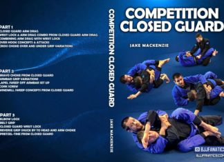 Jake Mackenzie Competition Closed Guard DVD Cover