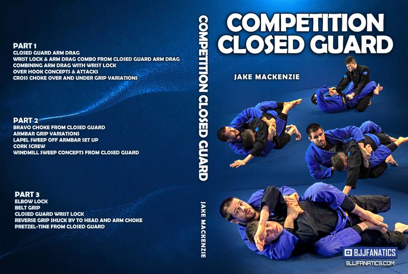 Jake Mackenzie closed guard cover 800x800 - Jake Mackenzie Competition Closed Guard DVD Review
