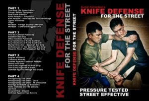 KnifeDefenseDVDcover NEW 1024x1024 300x204 - All The Best Self Defense DVD and Digital Instructionals