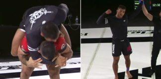 Kaynan Duarte Submits Rodolfo Vieira in 2m30s