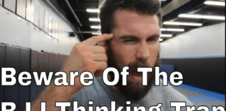 beware of the bjj thinking trap
