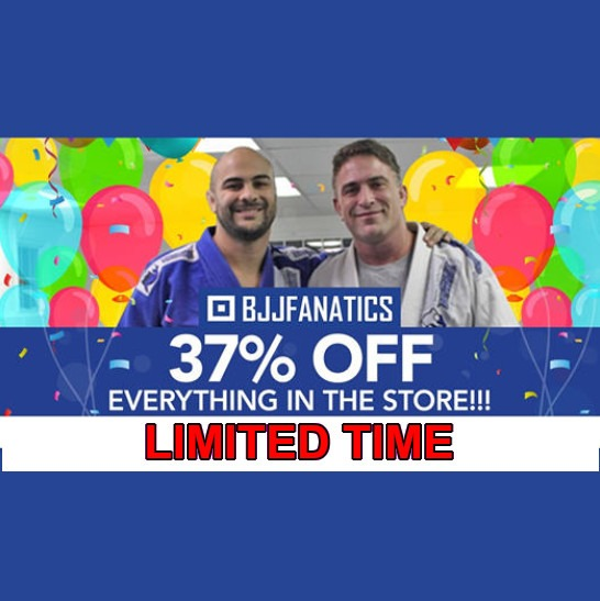 BJJ Fanatics Discount 37%