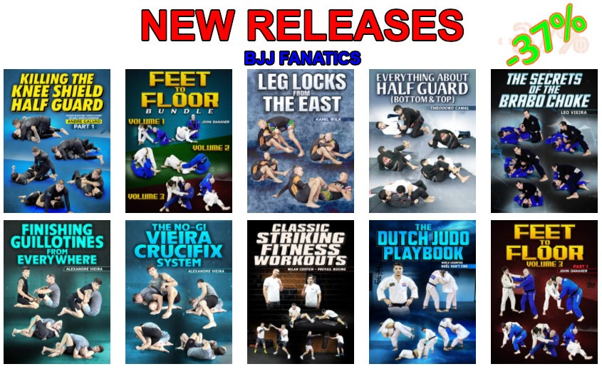 BJJ Fanatics new releases