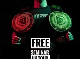 Free BJJ Seminar Tour In The UK By Ashley Williams For Covid-Striken Gyms