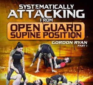 GordonRyan SystematicallyAttackingFromOpenGuardSupinePosition FRONTCover1 1024x1024 300x274 - Gordon Ryan Open Guard Supine Position DVD Instructional Review