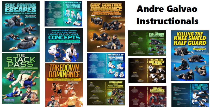 Andre Galvao DVDs Instructionals