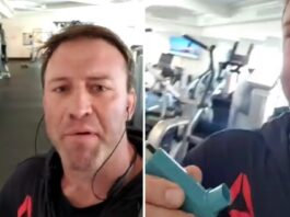 Stephan Bonnar Kicked Out of Gym Over Mask on his B-Day, Mocks on Exit: 'Wake Up You Sheep, Cowards...'