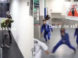 Guy Tries to Rob Brazilian Jiu-Jitsu Academy, What a Bad Idea