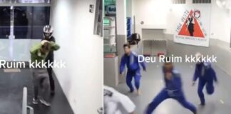 Guy Tries to Rob Brazilian Jiu-Jitsu Academy, What a Bad Idea