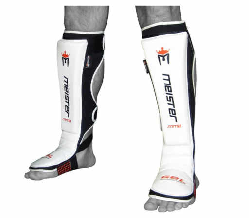 Meister EDGE Leather Instep Shin Guards