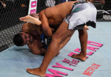 Andre Muniz Breaks Jacare's Arm