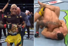 Charles Oliveira Becomes the UFC Lightweight Champion by defeating Michael Chandler at the UFC 262
