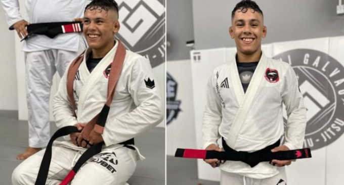 Mica Galvao Becomes a Black Belt at the age of 17