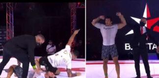 Diniz Chokes Barbosa unconscious, but still loses the match